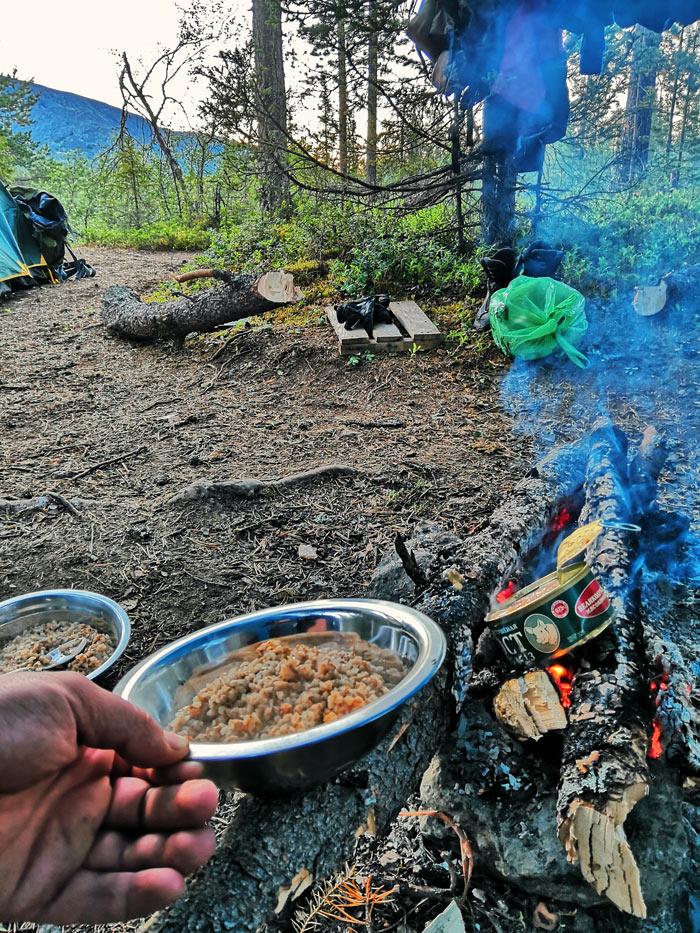 Гречка на ужин в Хибинах