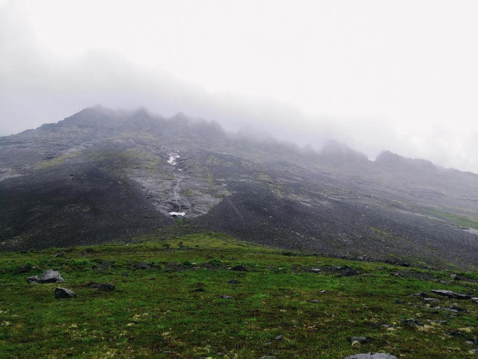 Облака в Хибинах