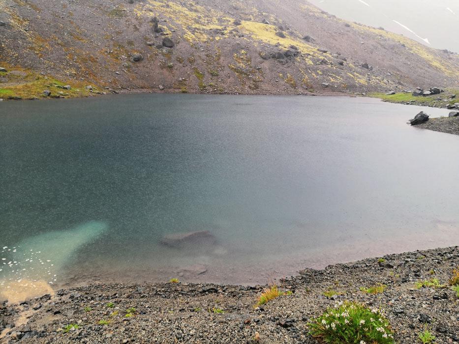 Озеро Длинное в Хибинах
