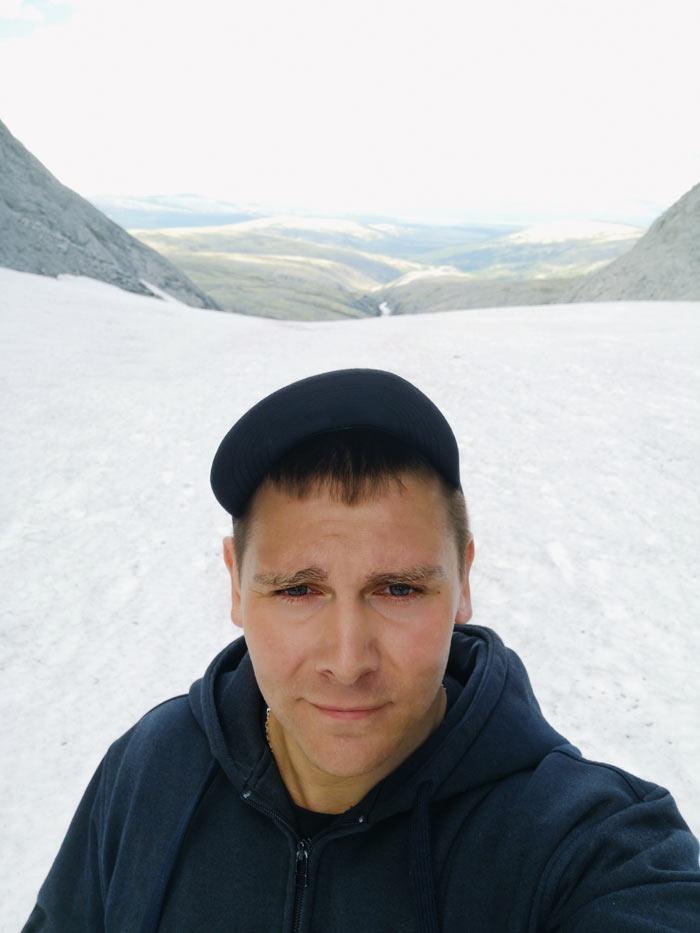 Перевал Северный Рисчорр в Хибинах