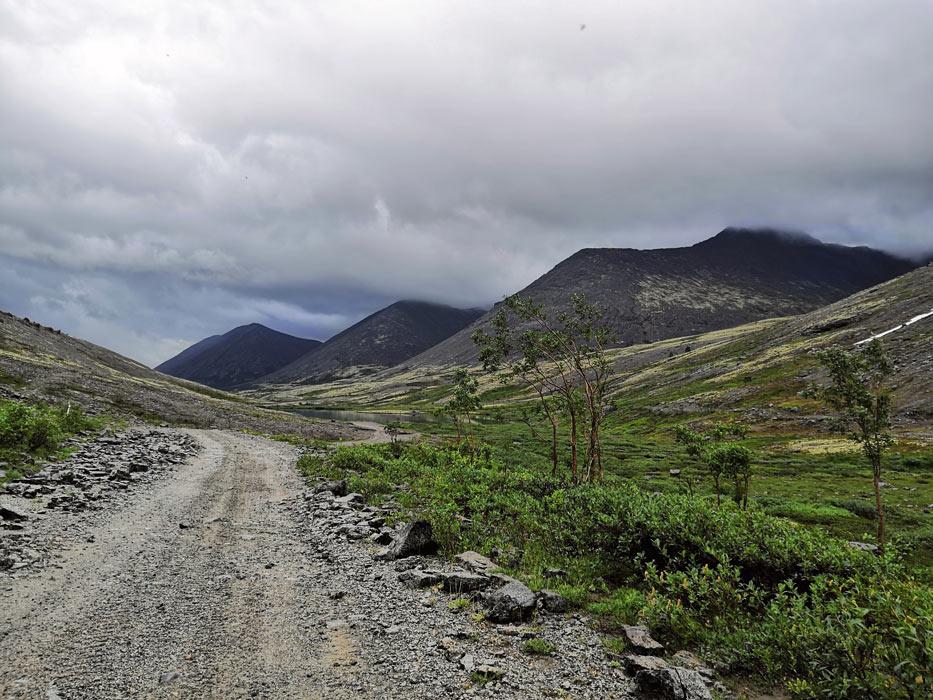 Три красивых вершины в Хибинах