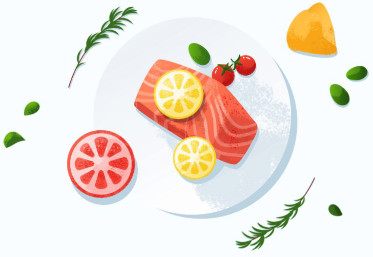 Продукты питания богатые жирами